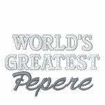 World's Greatest Pepere Track Jacket