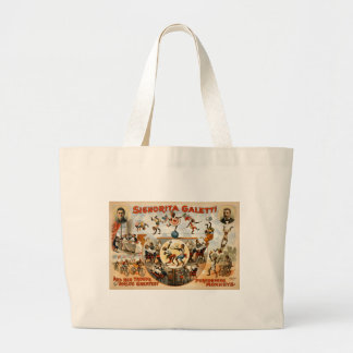 World's Greatest Performing Monkeys 1892 Tote Bag