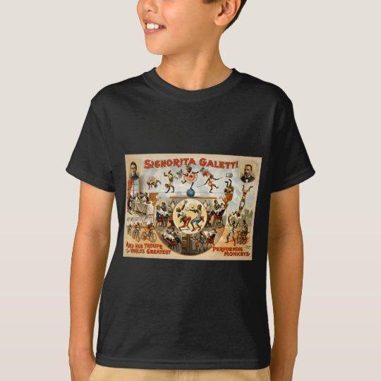 World's Greatest Performing Monkeys 1892 T-Shirt