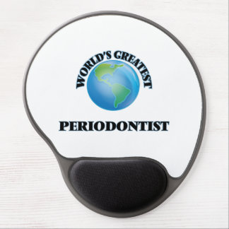 World's Greatest Periodontist Gel Mouse Pad