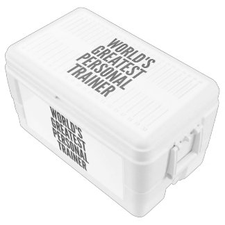 Worlds Greatest Personal Trainer Chest Cooler