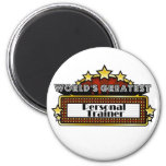 World's Greatest Personal Trainer Refrigerator Magnets