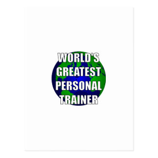 World's Greatest Personal Trainer Postcard