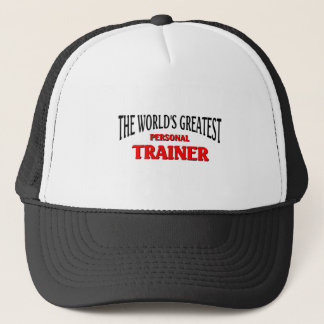 World's Greatest Personal Trainer Trucker Hat