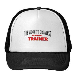 World's Greatest Personal Trainer Trucker Hat