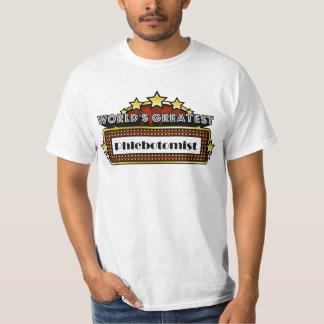 World's Greatest Phlebotomist T-Shirt