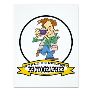 WORLDS GREATEST PHOTOGRAPHER IV MEN CARTOON CARD