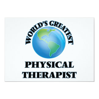 World's Greatest Physical Therapist Invite