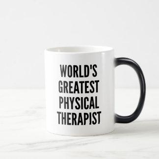 Worlds Greatest Physical Therapist Magic Mug