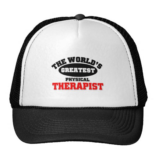 World's Greatest Physical Therapist Trucker Hat