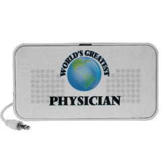 World's Greatest Physician Laptop Speaker