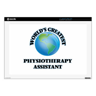 World's Greatest Physiotherapy Assistant Laptop Decal