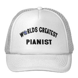 Worlds Greatest Pianist Trucker Hat