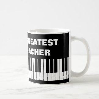 World's Greatest Piano Teacher coffee mug
