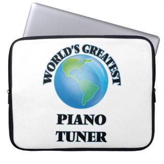 World's Greatest Piano Tuner Laptop Computer Sleeve