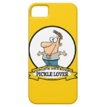 WORLDS GREATEST PICKLE LOVER CARTOON iPhone 5 COVER