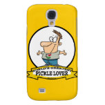 WORLDS GREATEST PICKLE LOVER CARTOON SAMSUNG GALAXY S4 COVERS