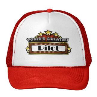 World's Greatest Pilot Hat