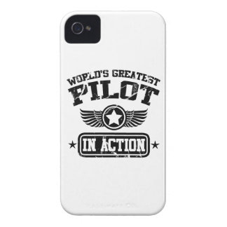World's Greatest Pilot In Action iPhone 4 Case