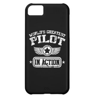 World's Greatest Pilot In Action iPhone 5C Case