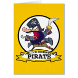 WORLDS GREATEST PIRATE CARTOON GREETING CARDS