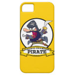 WORLDS GREATEST PIRATE CARTOON iPhone 5 CASE
