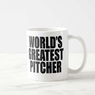 World's Greatest  Pitcher Coffee Mug