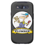 WORLDS GREATEST PLUMBER II MEN CARTOON SAMSUNG GALAXY S3 COVERS
