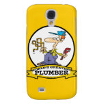 WORLDS GREATEST PLUMBER II MEN CARTOON GALAXY S4 COVER