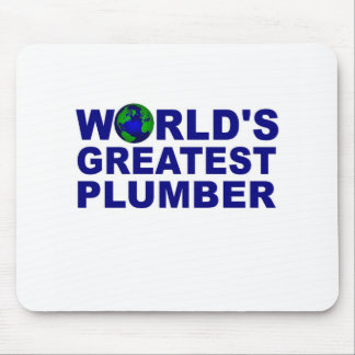 World's Greatest Plumber Mouse Pad