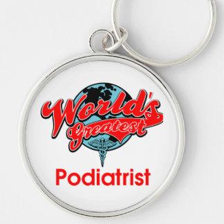 World's Greatest Podiatrist Keychain