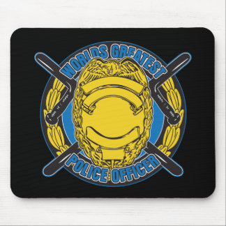 Worlds Greatest Police Officer Mouse Pad