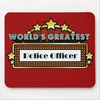 World's Greatest Police Officer Mouse Pad