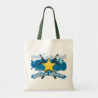 World's Greatest Police Officer Tote Bag