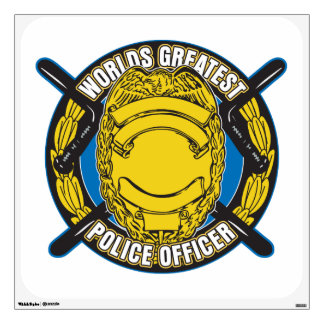 Worlds Greatest Police Officer Wall Skin