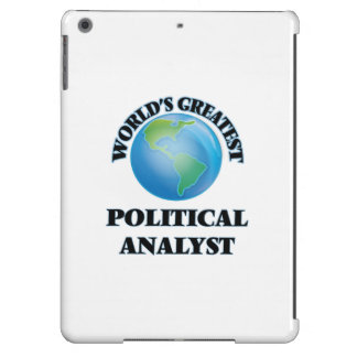 World's Greatest Political Analyst iPad Air Cases