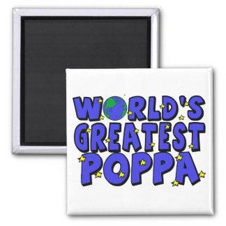 World's Greatest Poppa Magnet