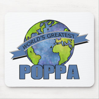 World's Greatest Poppa Mouse Pads