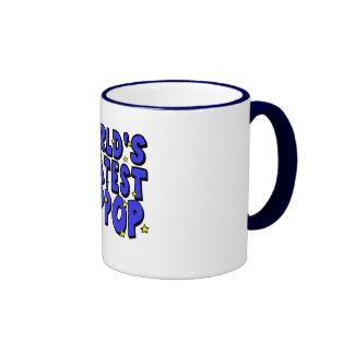 World's Greatest PopPop Ringer Coffee Mug