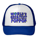 World's Greatest PopPop Trucker Hat