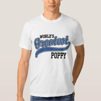 World's Greatest Poppy T-shirt