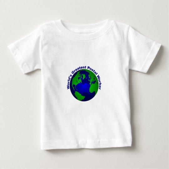 World's Greatest Postal Worker Baby T-Shirt