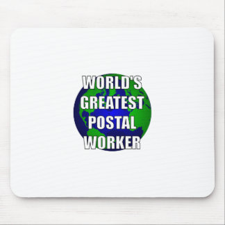 World's Greatest Postal Worker Mouse Pads