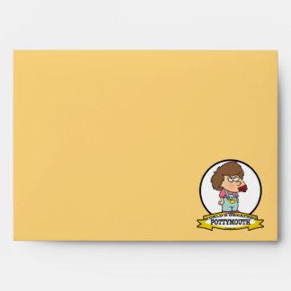 WORLDS GREATEST POTTYMOUTH KID CARTOON ENVELOPES