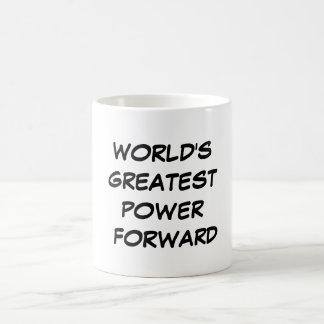"""World's Greatest Power Forward"" Mug"