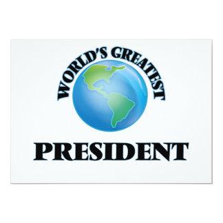 World's Greatest President Card