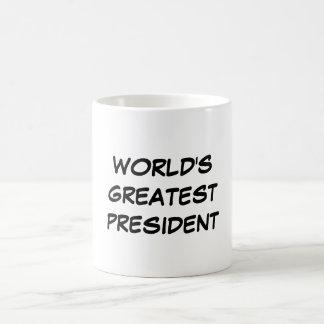"""World's Greatest President"" Mug"