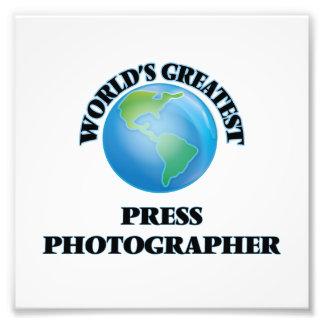World's Greatest Press Photographer Photo Print