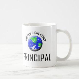 World's Greatest Principal Classic White Coffee Mug