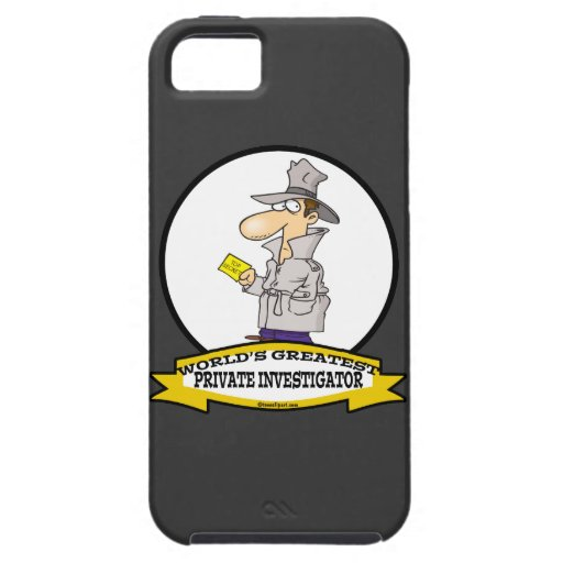 WORLDS GREATEST PRIVATE INVESTIGATOR MEN CARTOON iPhone 5 COVERS